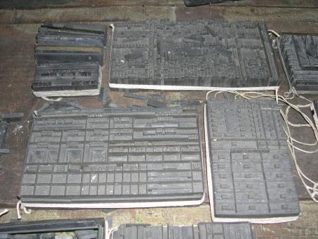 Gray's Printing Press © National Trust / Mervyn Robb