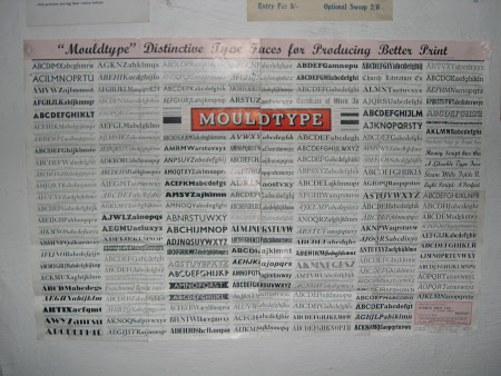 Advertisement poster