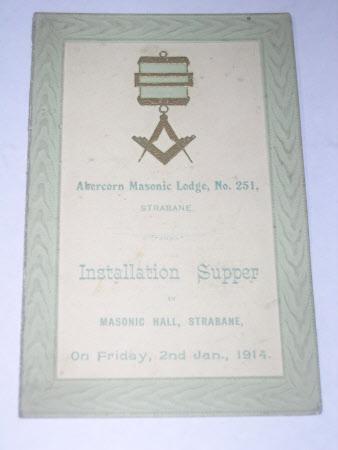 Supper card