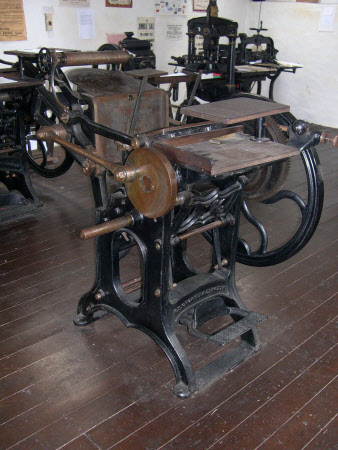 Gray's Printing Press © National Trust / Mervyn Robb