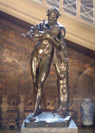 Silenus holding the Infant Bacchus