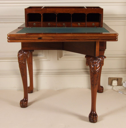 Writing and games table