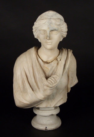An Unknown Roman Female Bust