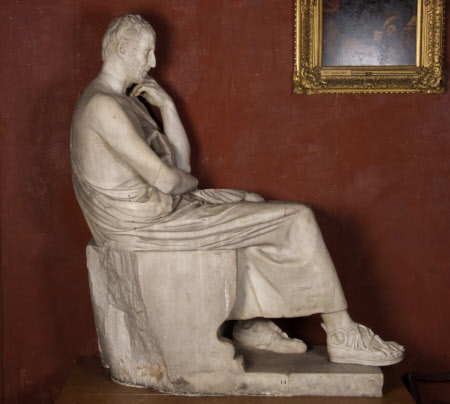 Seated Figure of a Philosopher