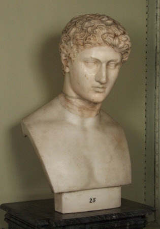 Head of a Youth in the Character of Hermes