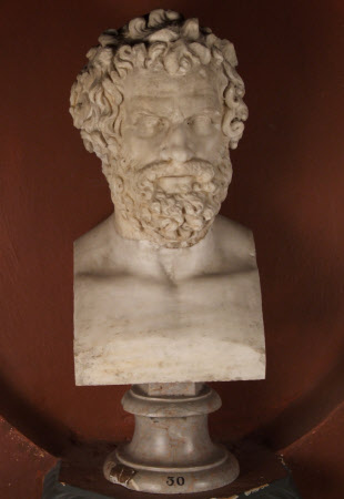 Greek Head of an Old Man