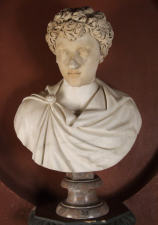 Emperor Marcus Aurelius, Emperor of Rome (121-180) as a Boy
