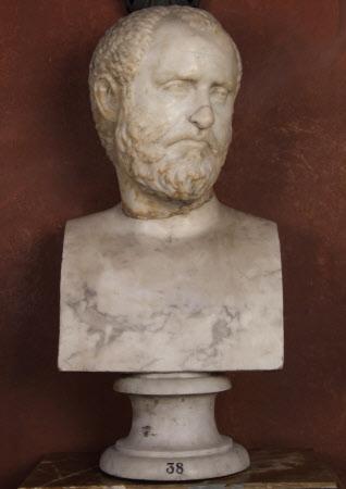 Portrait Head of a Roman