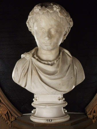 Bust of a Boy with a Fillet adorned with Ivy (dedicated to Bacchus)