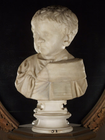 Bust of Saloninus (or Emperor Valerianus II) as a Young Child
