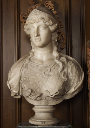 Bust of Athena with an Aegis