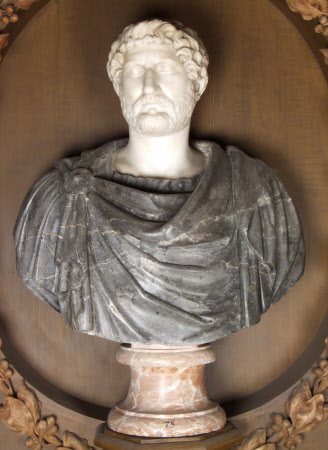 Emperor Hadrian, Emperor of Rome (76 – 138 AD)