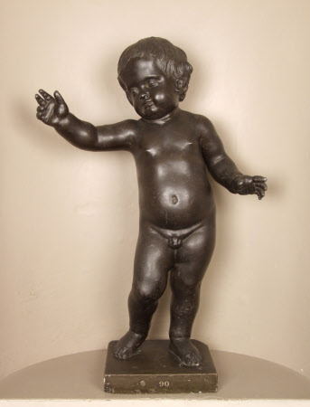 Putto, or possibly the Infant Apollo