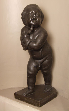 Putto, or possibly the Infant Hercules