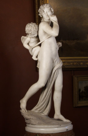 Nymph and Cupid (Cupid made Prisoner)
