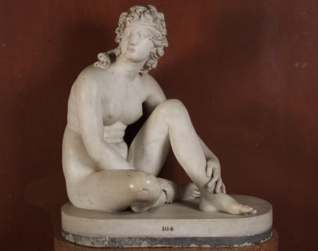 Seated Venus (after Nollekens)