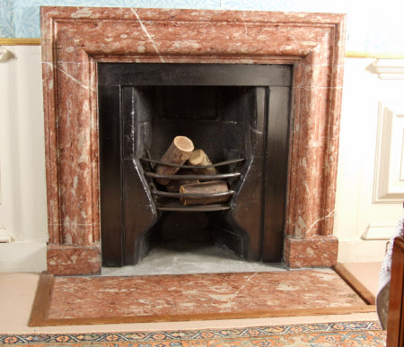 Chimneypiece with bolection moulding, Mrs Wyndham's Dressing Room, Petworth House, West Sussex