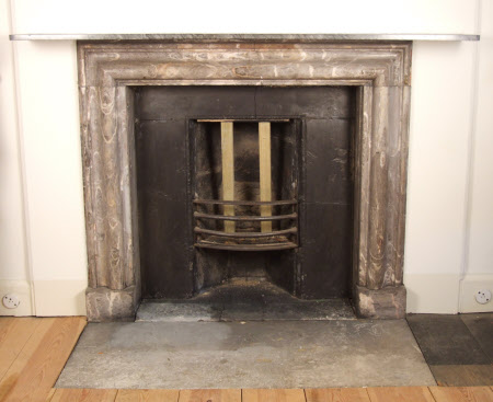 Chimneypiece, Family End Colonel Wyndham's Room, Petworth, West Sussex