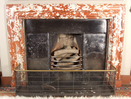Chimneypiece with bolection moulding, Belzamine Bedroom, Petworth House
