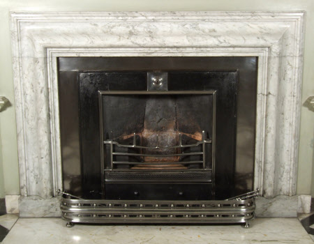 Chimneypiece, with bolection moulding, Marble Hall, Petworth House