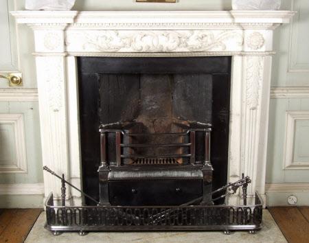 Chimneypiece, Audit Room, Petworth House