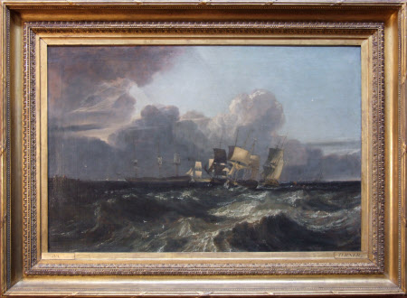 Ships bearing up for Anchorage ('The Egremont Seapiece')