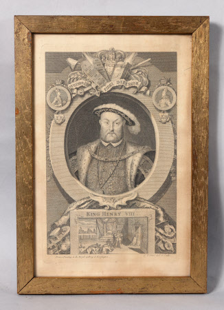 King Henry VIII (1491-1547) (after Hans Holbein the younger)