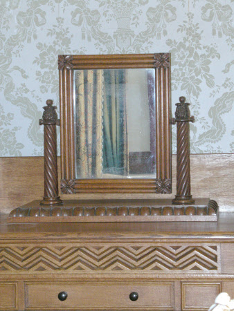 Mirror and stand