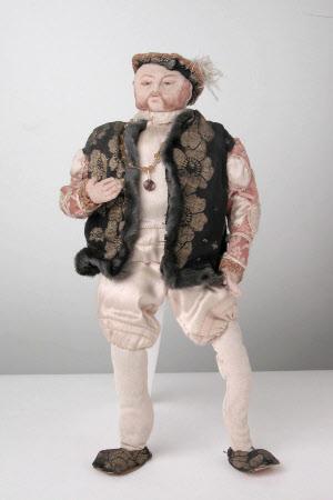 Rag Doll of King Henry VIII (1491-1547)