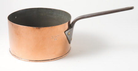 Copper saucepan