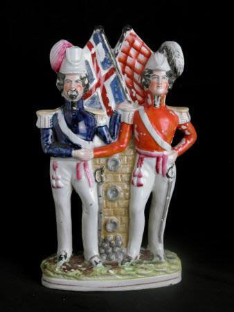 Prince Albert, Prince Consort (1819-1861) and the Emperor Napoleon III, Emperor of France ...