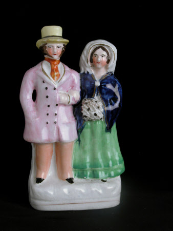 Possibly Queen Victoria (1819-1901) and Prince Albert, Prince Consort (1819-1861)
