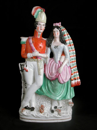 Probably Queen Victoria (1819-1901) and Prince Albert, Prince Consort (1819-1861)