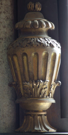 Urn, painted in imitation of marble