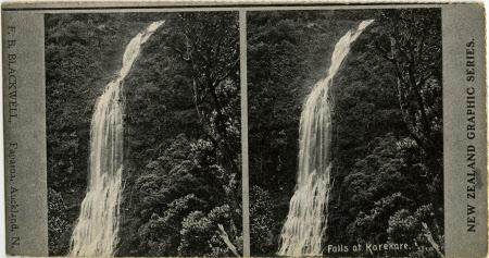 Falls at Karekare
