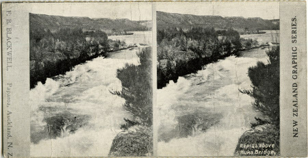 Rapids above Huka Bridge