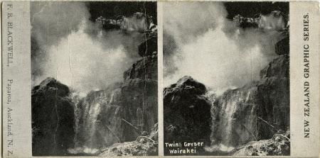 Twin Geyser, Wairakei