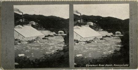 Ohinemuri River Rapids, Karangahake