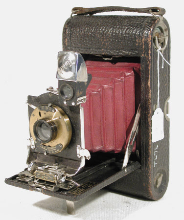 No 3 folding pocket Kodak, model G, serial no. 33044-E