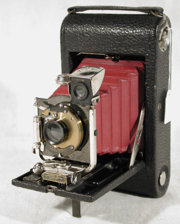 No 3 folding pocket Kodak, model E4, serial no. 47284-E