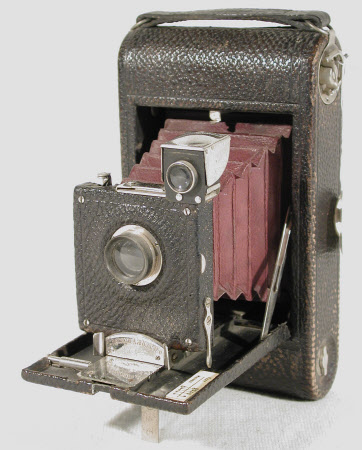 No 3 folding pocket Kodak, model A, serial no. 4045