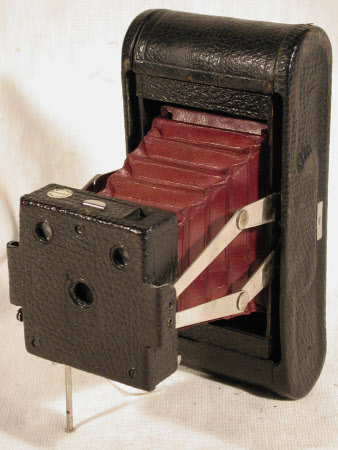 Folding Pocket Kodak No. 1A, serial no. 17445