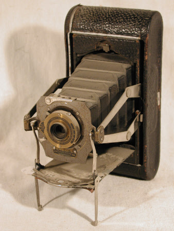 No. 1a Folding Pocket Kodak, Model D, (bed type) serial no. 5998