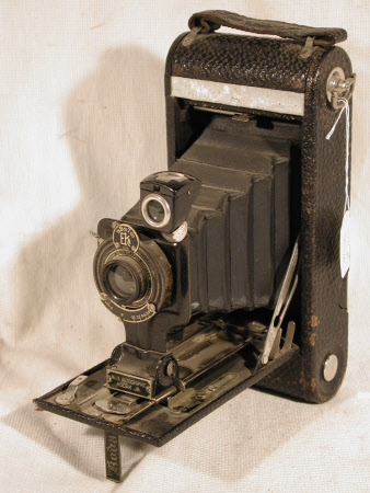 No 1 Autographic Kodak Jr, model A, serial no. 551829