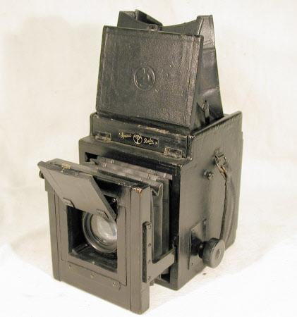 Thornton Pickard Special Ruby Reflex folding camera.