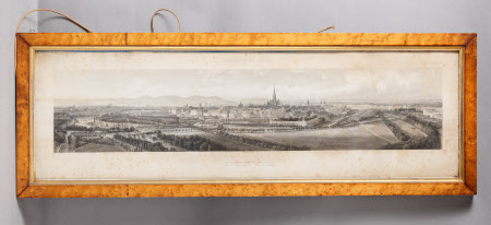 A panorama of Vienna (after Rudolf von Alt)