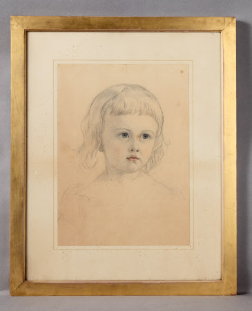 Charlotte Mildred Langton, later Mrs Leonard Darwin (d.1941) as a child