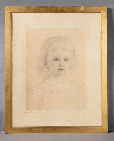 Possibly Mary Langton Massingberd, Mrs Hugh Maude de Fellenburg Montgomery (1871-1950) as a young ...