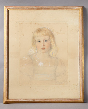 Charlotte Mildred Langton, Mrs Leonard Darwin (d.1941) as a Child