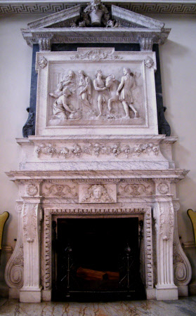 Sacrificing to Bacchus, Marble Hall, Clandon Park